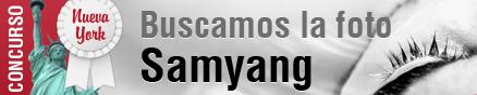 Imagen promocional concurso samyang